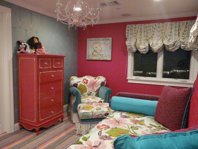 Private Residence Laguna Beach eclectic-kids
