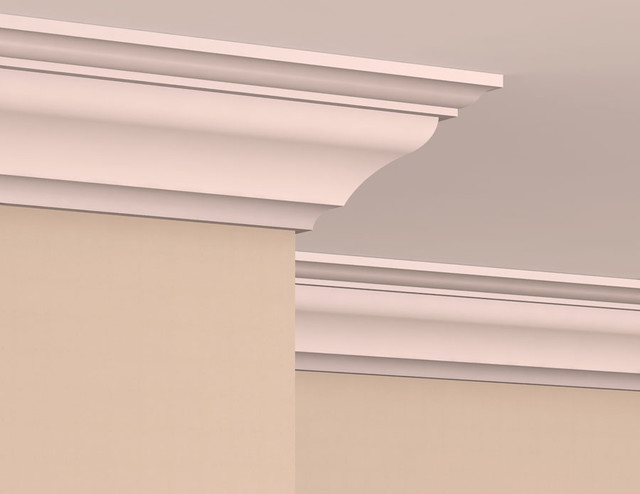 CR1004 Interior Plaster Crown Moulding Molding And