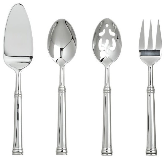 Tuscany 4-Piece Serving Set traditional-serving-utensils