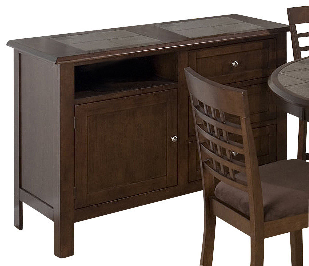 Jofran Caleb 36 Inch Server Contemporary Buffets And Sideboards By Efurniture Mart