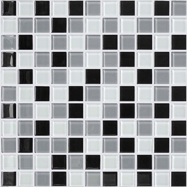 Swimming Pool Tile Sheet Multi colored Crystal Backsplash