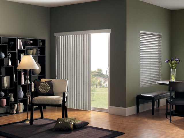 Vertical Blinds For Sliding Glass Doors Modern Living