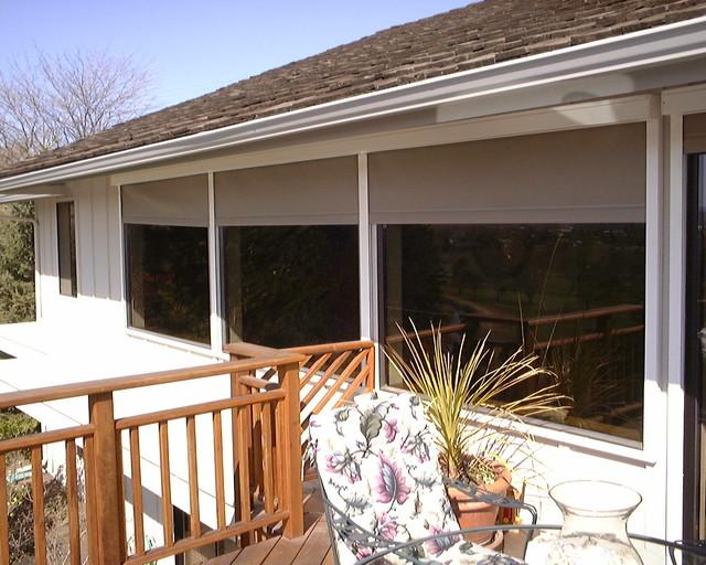 Habitat Screens Regulating House Temperature traditional-roller-blinds