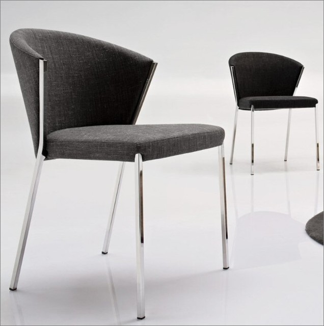 Calligaris mya dining room chair modern dining chairs for Modern dining room chairs