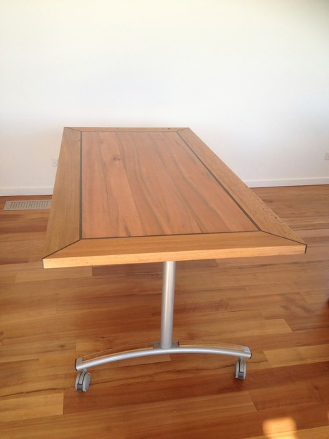 Fold away Blackwood dining table