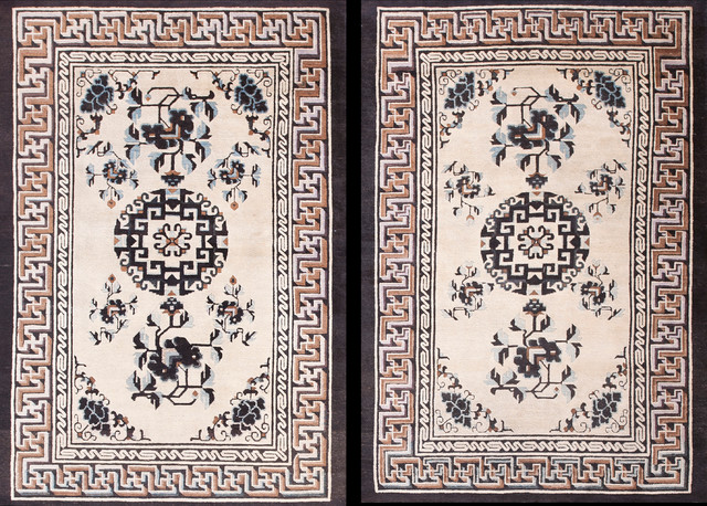 Mongolian Carpets asian rugs