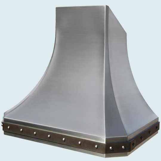 Stainless Hood | Handcrafted Metal modern-range-hoods-and-vents