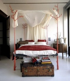 Twig Bed eclectic-beds