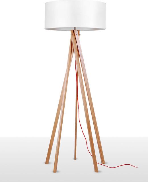 Multi Leg Nordic Style Wood Floor Lamp Scandinavian