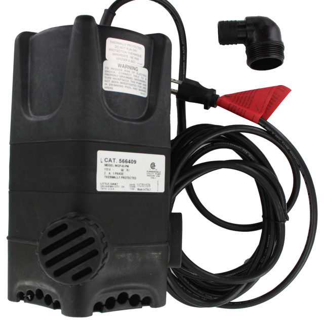 Little Giant WGP-65-PW (566409) Premium Pond Pump (1900 GPH) modern-outdoor-products