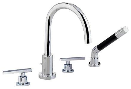 Rohl Modern Architectural BA26L-APC Roman Tub contemporary-bathroom-faucets