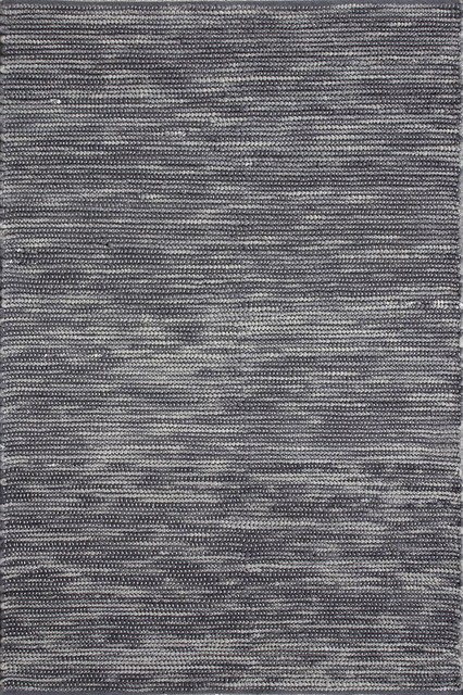 """Loloi Hogan HO-01 7'6"""" x 9'6"""" Graphite Rug contemporary-rugs"""