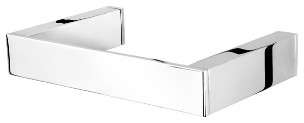Square Chrome Towel Ring contemporary-towel-rings