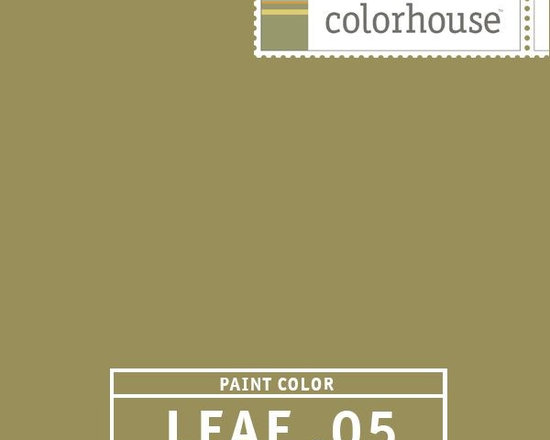 Colorhouse LEAF .05 - Colorhouse LEAF .05: Elegant and rich, with a tranquil presence. This hue is gorgeous in a great room, large kitchen or master bedroom suite. Large spaces handle this color well.