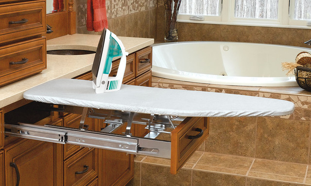 In-Drawer Mount Ironing Board - contemporary - ironing boards