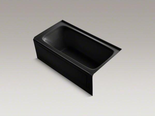 "KOHLER Bancroft(R) 60"" x 32"" alcove VibrAcoustic(R) bath with Bask(TM) heated su contemporary-bath-and-spa-accessories"
