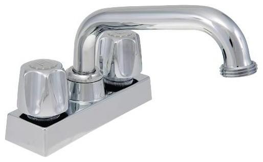 Laundry Tub Faucet : Laundry Faucet Components Chrome - Contemporary - Utility Sink Faucets ...
