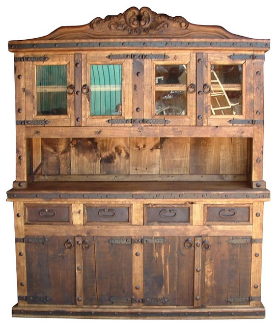 ... Kitchen Hutch - Rustic - China Cabinets And Hutches - by Indeed Decor