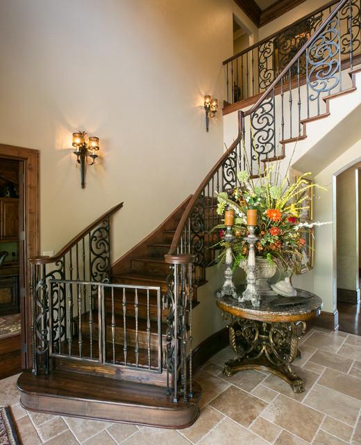 Entry Staircase mediterranean