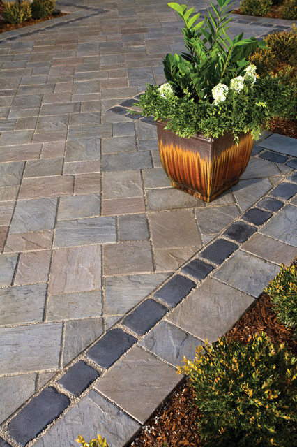 Unilock Richcliff Pavers traditional-outdoor-products
