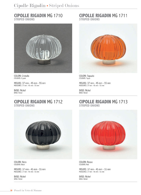 """Murano Knobs """"made in Italy"""" cabinet-and-drawer-knobs"""