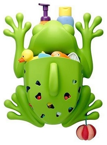 Amazon.com: Boon Frog Pod: Baby eclectic toy storage