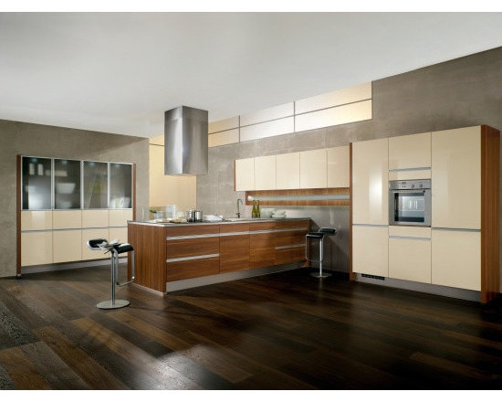 C channel style Kitchen Cabinets -