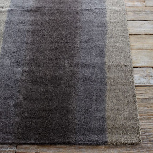 Ombre Dye Rug, Plaster contemporary-rugs