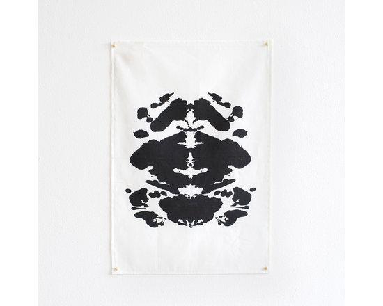 Ink Blot Tea Towel -