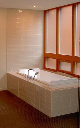 Pinecone  Bathroom modern-bathroom
