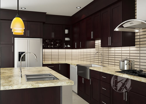 FX Cabinets Warehouse Century City contemporary-kitchen-cabinets