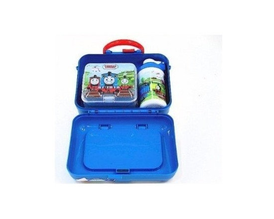 Thomas the Train - Dinnerware - Sidekick Lunch Box, Set of 2 - Pack your lunch in style with the Thomas the Tank Engine lunch box set!
