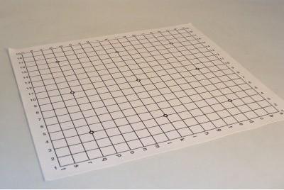 World Wise Imports Go Board Vinyl Mat Alphanumeric modern-bath-mats