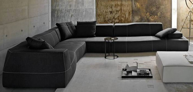 Bend Sofa from B&B Italia - Modern - Sofas - indianapolis - by Form + Fun...