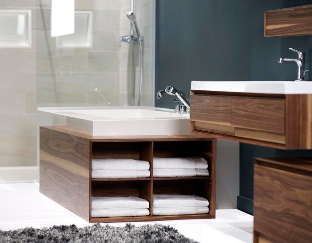 Wet style m serie modern bathroom cabinets and shelves for Bathroom cabinets montreal