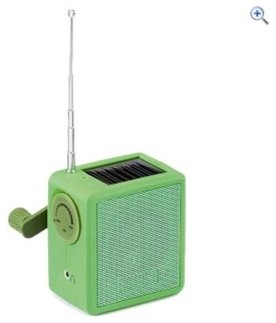 Gelert Wind Up Solar Radio contemporary home electronics