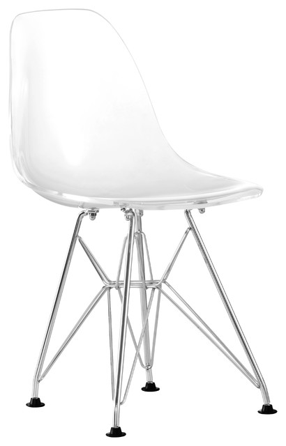Baby Spire Chair Transparent contemporary-kids-chairs