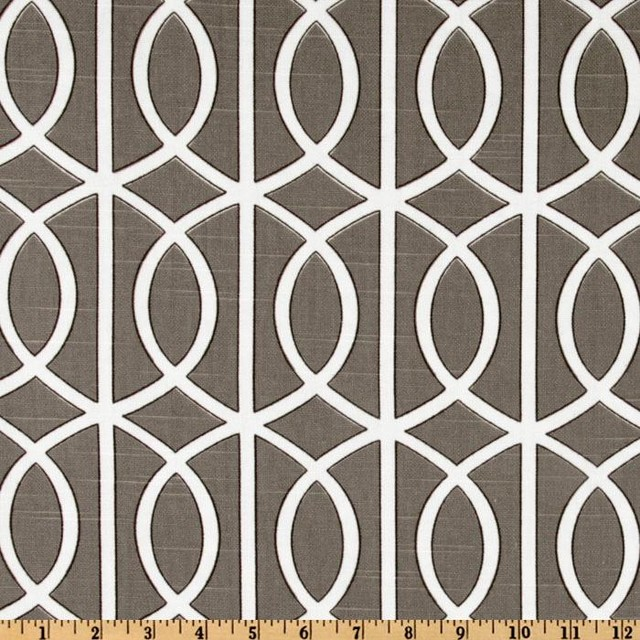 Dwell Studio Bella Porte Brindle contemporary upholstery fabric
