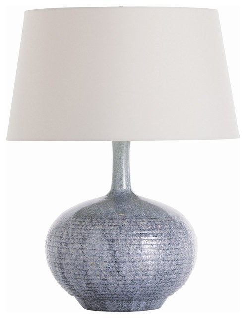 Cumberland Porcelain Lamp contemporary-table-lamps