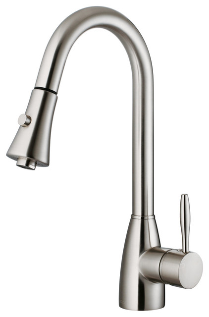 VG02013ST - Stainless Steel Pull-Out Spray Kitchen Faucet traditional ...