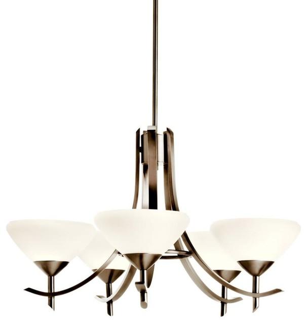 Kichler Lighting - 10776AP - Olympia - Nine Light Chandelier contemporary-chandeliers