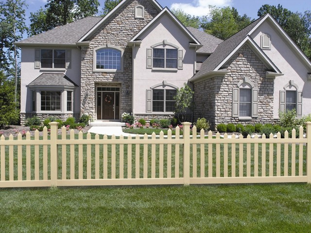 Vinyl Pvc Fence Picket Fences Silverbell Style