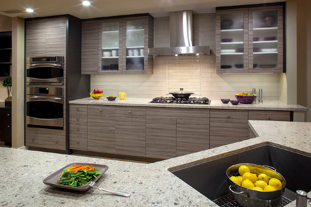 Gallery of Work  Contemporary  Kitchen Cabinetry  los angeles  by