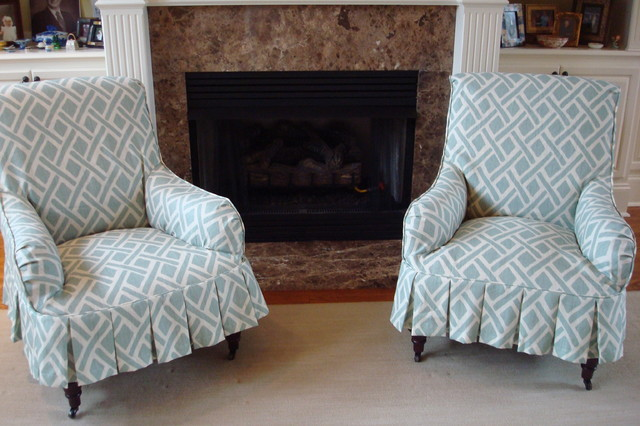 Slipcovers living-room-chairs