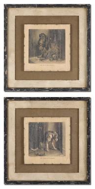 Loyal Companion Vintage Art Set traditional-artwork