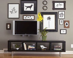 Pinterest / Search results for tv gallery wall