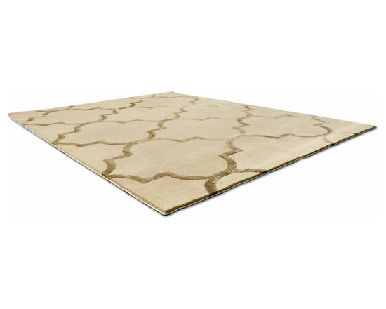 Abos Rug - This low pile nylon rug is made locally in California.