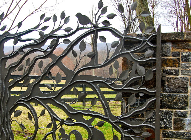 Howard Roberts eclectic-home-fencing-and-gates