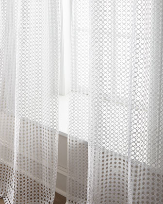"""Each 96""""L Allison Sheer traditional-curtains"""