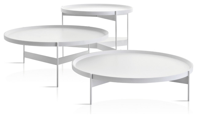 Modern Round Coffee Table Contemporary Coffee Tables By Studio Verticale